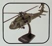 1/60 Uh-60 Black Hawk Prepainted parts of metal and plastic, NO GLUE