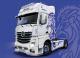 M.B. ACTROS MP4 ShowTrucks 1/24