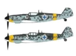 "Messerschmitt Bf109G-6 ""FINNISH AIR FORCE ACES COMBO"" (Two kits in the box) 1/72"